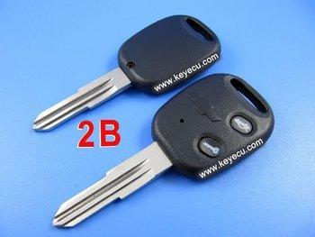 Free shipping by HKP MOQ:1lot 10pcs/lot Chevrolet Remote Key Shell 2 Button