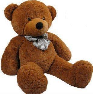 "39"" Giant Stuffed Animal Teddy Bear Toys Brown As Christmas Gift+Gift&Free Shipping"