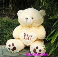 "33.4"" /85CM Plush Stuffed Romantic Bear As Christmas Gift+Gift&Free Shipping"