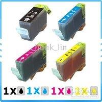 4x ink For Canon i550 i855 iP4000 iP5000 S400 i550/ i560/ i850/ i860/ i865/ i6500/ i8650 BCI-3eBK