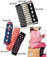 wholesale 24pairs/lot  Baby legs wears baby Leg warmers children's long stockings Baby socks/Infant socks