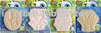 Hot Cute Sponge Bob Baby Kids Bath Sponge Facial Cleaning Sponge