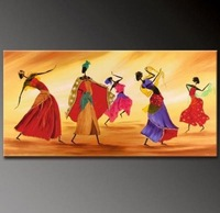 MODERN ABSTRACT CANVAS ART OIL PAINTING Guaranteed 100% Free shipping 016