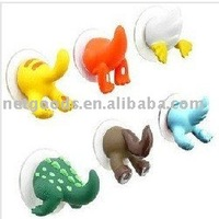 Free shipping Lovely Animal tail hook. Lovely Animal Tail Hook, funny animal towel holder, wall hook, animal sucker