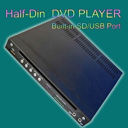 Global best-selling products CAR DVD/ Car Half DIN In-Dash USB/SD Slot(China (Mainland))