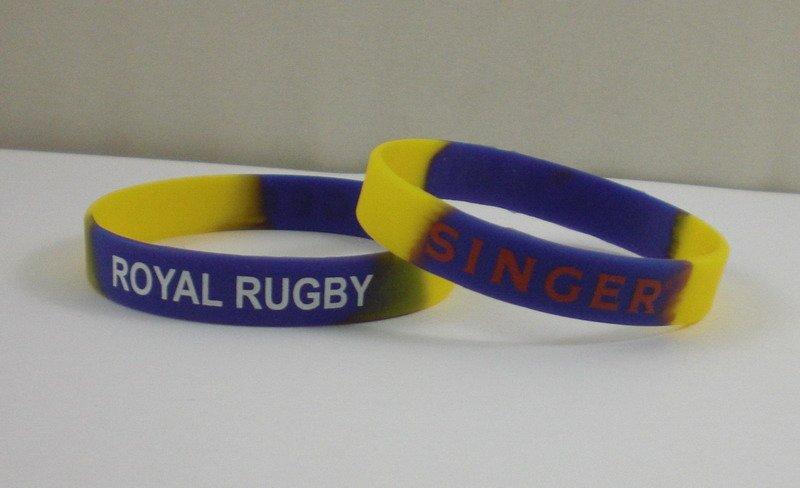 Custom wrist band, swril color bands, silicone bracelet(China (Mainland))