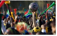 free shipping wholesale VUVUZELA FOOTBALL TRUMPET,horn,South Africa World Cup,loudspeaker 100pcs