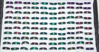 Wholesale - mood ring will change colors stainless steel 700pcs