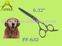 "medium size scissors, grooming products, pet scissors FF-632, size 6.32"", 9cr13 steel"