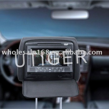 Free Shipping ,1pcs/lot,EMS ,9 inch Car Headrest DVD Player