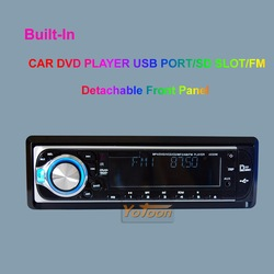 "CAR 1 Din Detachable Panel DVD/MP3/USB/SD AM/FM +AUX IN ---""Global best-selling products"" + Promotions(China (Mainland))"
