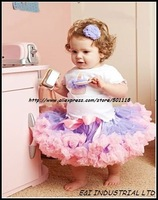 2014 new arrive EMS free shipping 10 pcs wholesales new arrival petti party skirt dancing wear 1-6Y ready stock