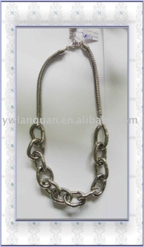 Guaranteed 100% Lead-free nickel 2010 NEW handmade alloy necklace+FREE SHIPPING