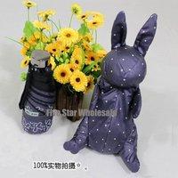 New Arrival/Free Shipping/Accept Credit Card/New Novelty Fashion Cute Rabbit Bunny Folding Sun Umbrella Girl's Love!