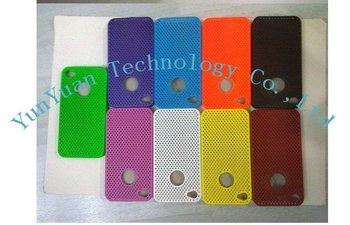 Free shipping Wholesale, 100pcs/lot Mesh Net Flexible Case for iPhone 4G