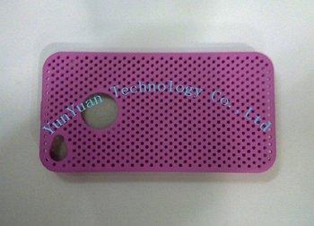 Free shipping Wholesale, 200pcs/lot Mesh Net Flexible Case for iPhone 4G
