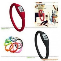Free Shipping/Fashion Wrist sport Watch waterproof silicone watch