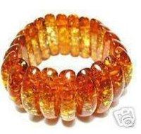 Asian Genuine Tibetan Amber Bracelet Bangle  shipping free