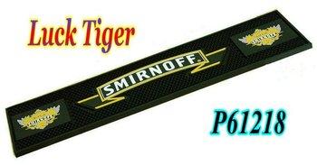 PVC, Rubber Smirnoff Bar Mat P61218