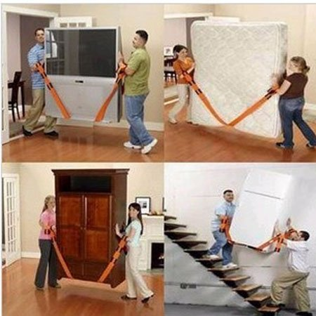 Free shipping Furniture, moving belt transporting, handling, electrical appliances, move, use rope handling(China (Mainland))
