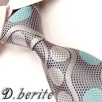 Brand New Necktie Polyester ties Handmade Polka Dot Colorful Men's Tie G330