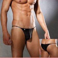 Free shipping/ 5pcs/lot black/white/men's sexy mini Briefs /men's underwear   size:S/M/L/XL