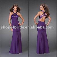 ED015 Free Shipping! Halter Sexy Evening Dresses