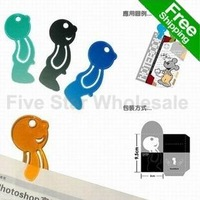 For Promotion/Free Shipping/Accept Credit Card  New Novelty Fashion Plastic Mr P bookmark book mark