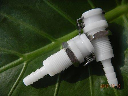 """3/16 """" POM NBR plástico feminino diaconnect rápida corpo da conexão(China (Mainland))"""