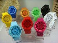 Free Shipping (50pcs/lot) NJelly watch ew of Japanese Movement hot!!!