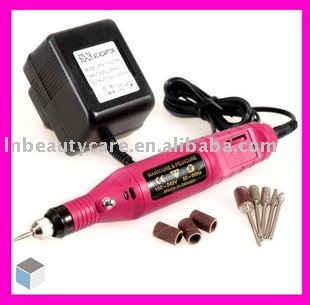 LND-MINI Electric nail drill & Polishing machine &nail art machine&18000rpm & pink(China (Mainland))