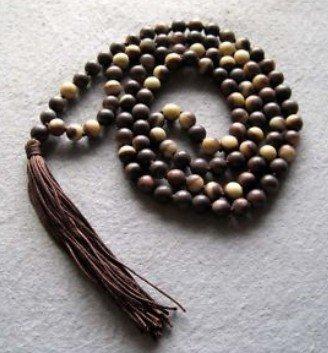 Budista tibetano 108 Oração Jade transporte Colar Mala Beads livre(China (Mainland))