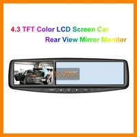 4.3 inch TFT Color LCD Screen / Car Rear View Mirror Monitor ---Promotions