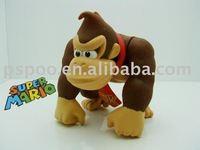 "Super Mario Bros 6"" DONKEY KONG Action Figure Toy Xmas"