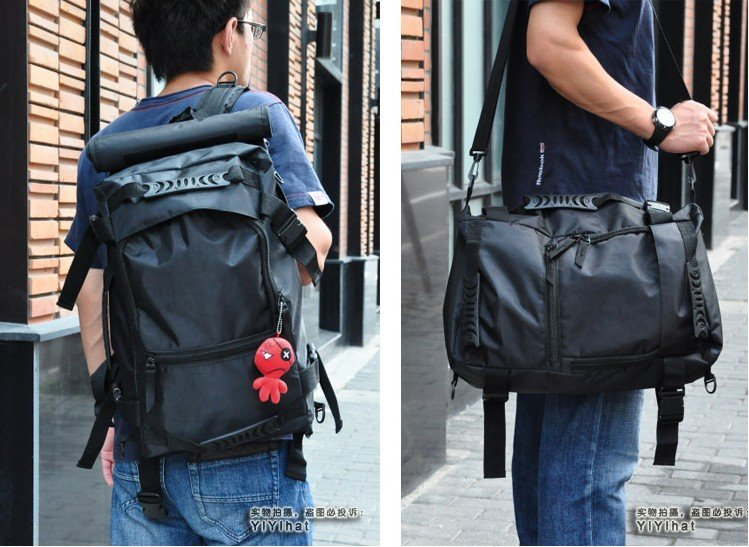 free shipping backpack laptop bag handbag 5 piece computer bag knapsack package hiking mountain bag bike package bag 240(China (Mainland))