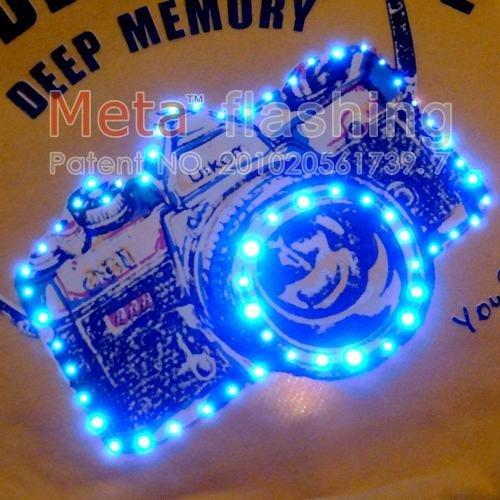 natal 2011 produto led piscando cão jaquetas para o inverno mixwholesale 50pcs/lot(China (Mainland))