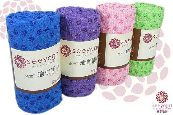 Frete Grátis Antiderrapante toalha yoga tapete de yoga(China (Mainland))