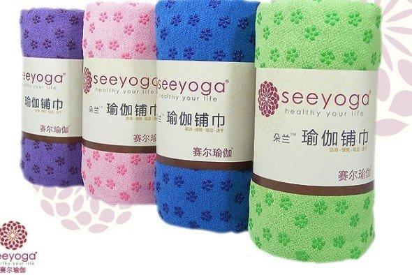 Seeyoga Frete Grátis tapete de yoga toalha(China (Mainland))