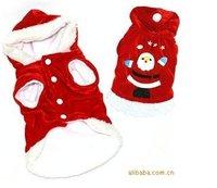 Whole sale christmas dog clothes /pet wear 5pcs per lot-free shipping