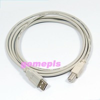 Free shipping! 10pcs/lot! 1.5m USB 2.0 Type A Male to B Male Printer Cable