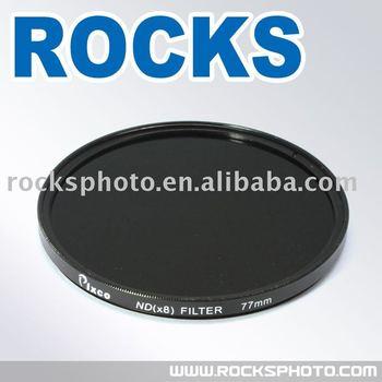 PIXCO 77mm 77 mm Neutral Density 8 ND8 Filter