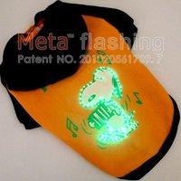 META LED flashing  dog clothes pet clothing,dog cloth,pet clothes,dog clothing mix wholesale 20pcs/lot