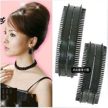 D19Free shipping! 2pcs/lot Elegant Sexy Hair Band Braider Curler Roller Salon DIY