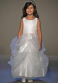 Little girl's dress/  children's gown/  flower girl dress