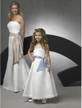 Free Shopping !! Little girl's dress/  children's gown/  flower girl dress