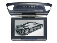 Flip Down and Roof Mounted Monitor for Universal car With 2 Vedio input and one Audio