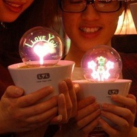 EMS Free Shipping 10pcs/lot Led Night Light Table Desk Light Lamb Color Changing Decrorative Light Gift