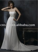 Free shipping New Arrival Unique 2010 Latest Wedding Dress ---HS-163