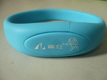 TWO YEARS warranty PVC bracelet  20pcs/lot Real 4GB USB Flash Drive USB pendrive dhl fedex free shipping