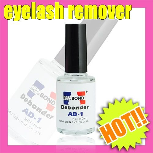 5pcsxUseful Makeup Eyelash Remover Bottle Acrylic(China (Mainland))
